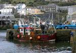 Bringing home the fish Fishing boat