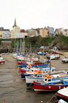 Tenby 102 Boats in Tenby Harbour