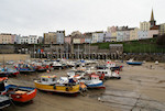 Tenby 111 Boats in Tenby Harbour
