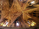 Vaulted ceiling, Pershore Abbey